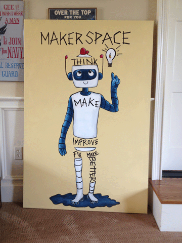 TMI Robot Poster